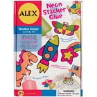 ALEX Toys Craft Neon Sticker Glue window Art Activity Set Brand New