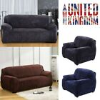 1/2/3 Seat Sofa Slipcover Soft Stretch Couch Cover Protector Easy Fit Washable H