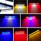 12 LED Car Windshield Emergency Warning Flash Strobe Light Bar Dash Grille Lamp