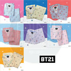 BTS BT21 Official Authentic Goods Check Pajamas by Hunt innerwear with Tracking#