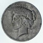 Early - 1927-D - Peace Silver Dollar - 90% US Coin *760
