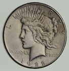 Early - 1922-S - Peace Silver Dollar - 90% US Coin *944