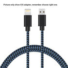 200cm Nylon Braided 3.1 Data Sync Charger Charging Cable Cord For Android iPhone