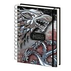 Genuine Game Of Thrones A5 Hardback Journal Notebook Note Pad Stark Targaryen