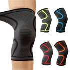2x Compression Knee Sleeve Brace Support For Running Tennis Fitness Sports Joint
