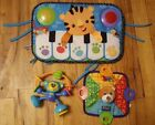 Baby Toy Lot - Fisher Price Kick N Play Piano Infantino Suction Toy Nuby Teether