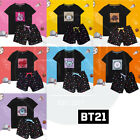 BTS BT21 Official Authentic Goods Spangle Pajamas 7Characters by Hunt