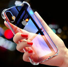 Luxury Ultra Slim Shockproof Bumper Case Glass Cover for Apple Phone 7 Plus