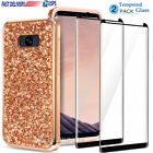 For Samsung Galaxy S8/S8 Plus Case Bling Diamond Armor Shockproof Phone Cover