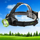 Infrared Sensor LED Headlamp Fishing Headlight Rechargeable USB Flashilight Lamp
