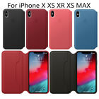 Original Wallet Leather Cover Case Flip ID Card Slot For i Phone X XS XR XS Max