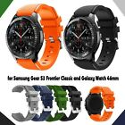 Silicone Wrist Watch Band For Samsung Gear S3 Frontier Classic 22mm image