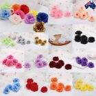 5/20x Artificial Fake Flower Head Silk Rose Heads Bulk Wedding Party Home Decor