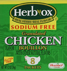 Herb-Ox Bouillon Chicken Instant Broth and Seasoning, 1.2 oz, 8 Packets Pack of