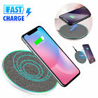 Auto-Clamp Fast Wireless Car Charger Phone Holder Mount For iPhone X Samsung S9