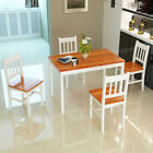 PANANA Solid Pine Wood Dining Set Table and Chairs Kitchen Dining Home Furniture
