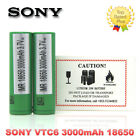 2 / 4pc AUTHENTIC SONY 18650 VTC6 3000MAH 30A 3.7V IMR BATTERY - US TOP SELLER