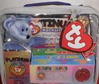 NEW 1999 TY BEANIE BABY PLATINUM EDITION BEAR IN BOX CASE SET MEMBERS ONLY CARD