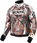 FXR Mens Realtree Xtra Ap Snow/Brown Octane Insulated Snowmobile Jacket Snocross