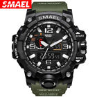SMAEL Mens Sports Multi-function Waterproof LED Digital Quartz Wrist Watch 1545 image