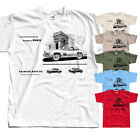 Mercedes Bezn Advert v1,car poster, T-Shirt (WHITE,KHAKI,OLIVE) All sizes S-5XL  image