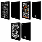 AMC THE WALKING DEAD DARYL DIXON BIKER ART LEATHER BOOK CASE FOR APPLE iPAD