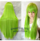 2019  Temin/Rebellious Lulu Repair Long Mixed Green Cosplay synthetic Wigs