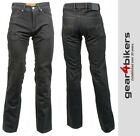 Richa Hammer Aramid Lined Armoured Jean Black Motorcycle Pant Pants Jeans Denim