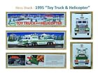 """One (1) 1995 HESS """"TRUCK & HELICOPTER"""" - MIB in UNOPENED BOX"""