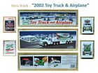 2002 HESS TOY TRUCK & AIRPLANE - MIB with Matching HESS Carry Bag
