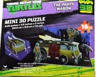 TMNT 3D Mini THE PARTY WAGON PUZZLE- 6+ Teenage Mutant NinjaTurtles -NEW