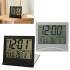 US Large Display Number Lcd Clocks Travel Alarm Clock Thermometer Timer Calendar