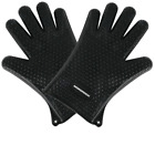 Silicone BBQ Heat Resistant Gloves Oven Grill Pot Holder Kitchen Cooking Mitts photo