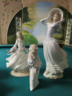 "LLADRO SPAIN SCULPTURE FIGURINES-PICK ONE- LADY WIND 14"" - CINDERELLA - MELCHIOR"