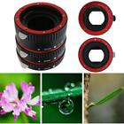 Macro Extension Tube Ring Auto Focus AF for Canon EOS Camera EF EF-S Lens LOT DO