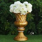 "WEDDING VASES 17"" Gold with Crystal Beads Wedding Party Decorations WHOLESALE"