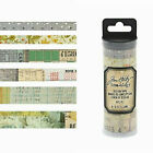 Tim Holtz Idea-ology Washi Tape sets~Several Varieties~Really Nice! Quick Ship!