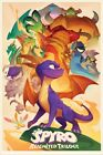 Spyro The Dragon Poster Spyro (Animated Style) 61 x 91.5cm