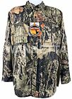 Men's Long Sleeve Button Up Front Wicking Hunting Shirt 5 Camo OptionsShirts & Tops - 177874