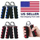 1/2X Exercise Foam Hand Arm Grippers Sports Forearm Grip Strengthener Heavy Grip image