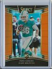 2018 Select Mike Gesicki Concourse Rookie Orange RC SSP #21/49 - Maimi Dolphins