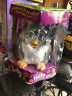 furby* 1998 Original Tiger Electronics 70-800 Grey Brown Eyes White Belly.