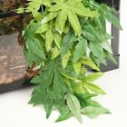 Hanging Reptile Leaves Vine Silk Terrarium with Suction Cup For Lizards Snakes