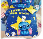 Lilo&Stitch Cartoon Bedding Sets Queen Twin Full Comforter Cover Set Pillow Case