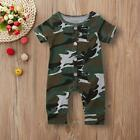 Camouflage Jumpsuit for Baby