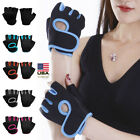 Внешний вид - Women Men Half Finger Work Out Gym Gloves Sport Weight Lifting Exercise Fitness