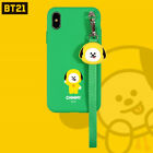 BT21 NEW CHIMMY Strap iphone Galaxy Case BTS Official Goods + Tracking No.