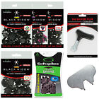 SoftSpikes Black Widow Golf Shoe Cleats Grip Replacement Insert Fittings Pack