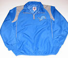 Detroit Lions 1/4 Zip Jacket, Men's Size Large New w/Tag on eBay
