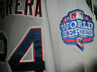 Brand New! Miguel Cabrera Detroit Tigers #24 Majestic 2patches sewn Jersey GREY